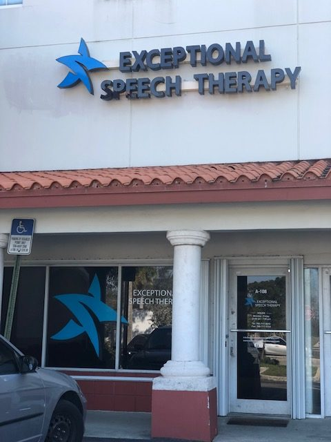 exceptional speech therapy and occupational therapy